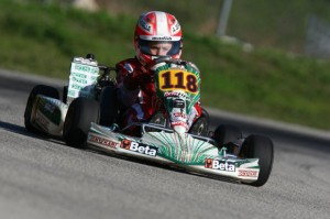 Antonio Serravalle was plagued by bad luck and will look to rebound in Homestead (Photo: INTL-KartingMedia.com)