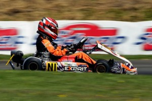 KF Junior CIK Trophy of New Zealand winner Mitchell Turner (Photo: Hagen Hopkins)