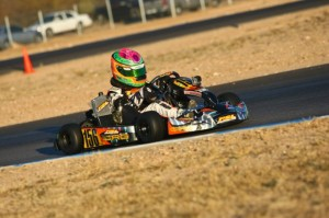 Horatio Fitz-Simon earned his maiden CoA victory during Saturday's round one action(Photo: Sean Buur - Go Racing Magazine)
