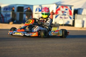 Fritz Leesmann completed the weekend sweep of the Rotax DD2 class in Tucson(Photo: Sean Buur - Go Racing Magazine)