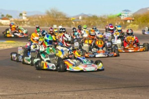 The Rotax Challenge of the Americas travels to the PKRA circuit in Phoenix, Arizona for rounds three and four of the 2013 program (Photo: Sean Buur - Go Racing Magazine)