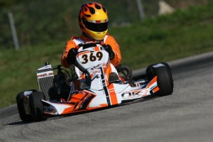 Schippers was impressive and on the front row in his senior debut(Photo: INTL-KartingMedia.com)