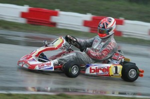 Defending DD2 Rotax Grand Finals champ Ben Cooper won the opening round Final(Photo: Ken Johnson - FWT)