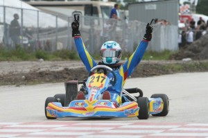 Jack Weprin went from LCQ to Final victory in Junior Max(Photo: Ken Johnson - FWT)