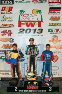 Anthony Gangi Jr. stood on the podium three times in four finals at the PBIR weekends(Photo: Ken Johnson - FWT)