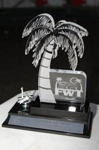 Florida Winter Tour's new trophy - The Palm(Photo: Ken Johnson - FWT)