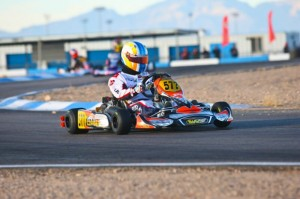 Veteran karter Alan Rudolph looks to extend his Rotax DD2 Masters point lead  (Photo: Sean Buur - Go Racing Magazine)