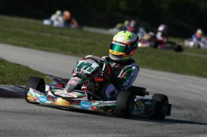Anthony Gangi Jr. will be back in FWT action this week at the Homestead Karting Complex looking to repeat his double TaG Cadet victories from round one (Photo: GangiJr.com)