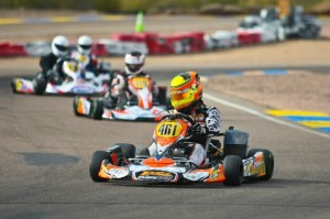Fritz Leesmann added the Sunday victory in Phoenix to his two from Tucson  (Photo: Sean Buur - Go Racing Magazine)