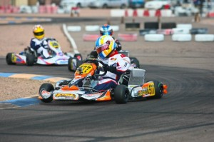 Alan Rudolph completed the weekend sweep of the DD2 Masters class in Phoenix  (Photo: Sean Buur - Go Racing Magazine)