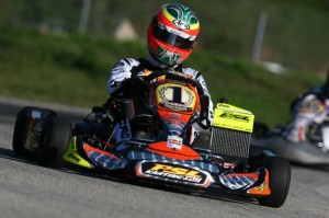 Reigning Rotax DD2 Masters World Champion will be looking to go four-for-four in feature race wins during 2013 FWT action (Photo: PSLKarting.com)