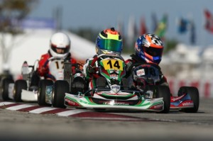 Dylan Tavella completed a successful run in Homestead with a podium finish in TaG Cadet and a victory in the Rotax Micro Max class (Photo: DylanTavella.com)