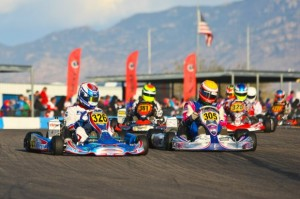 Alejo Fernandez leads the opening circuits at the Challenge of the Americas event in Tucson (Photo: Sean Buur - Go Racing Magazine)