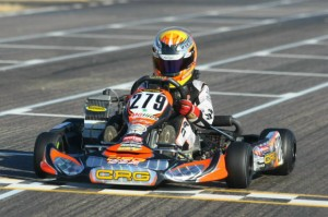 Austin Versteeg drove to a third place at the opening weekend of the Rotax Challenge of the Americas (Photo: Sean Buur - Go Racing Magazine)