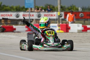 Anthony Gangi Jr. scored his third straight Mini Max win on Sunday (Photo: Ken Johnson - Florida Winter Tour)