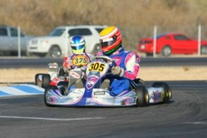 Tucson winner Parker McKean has a one point advantage in Senior Max (Photo: Sean Buur - Go Racing Magazine)