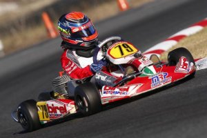 David Malukas at speed on his MRP Birel at Ocala FWT (Photo: DavidMalukas.com)