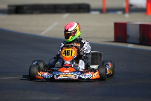 Fritz Leesmann secured his second straight DD2 title, and trip to the Rotax Grand Finals (Photo: Sean Buur - Go Racing Magazine)