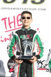 Anthony Gangi Jr. - EKN Driver of the Month - February 2013 (Photo: Ken Johnson - FWT)