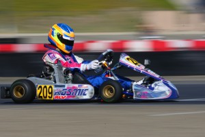 Blaine Rocha dominated the weekend to secure his first trip to the Rotax Grand Finals in Junior Max (Photo: Sean Buur - Go Racing Magazine)