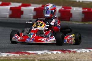After claiming the 2013 Florida Winter Tour Rotax Mini Max championship, Nicholas Brueckner showed his speed this past weekend at the Texas ProKart Challenge (Photo courtesy: Race Tech Development)