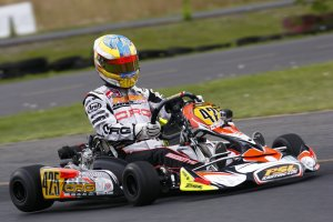 Recently taking the Coupe du Quebec win, Alessandro Bizzotto will look to be back on top of the podium this weekend in Mosport (Photo: PSLKarting.com)