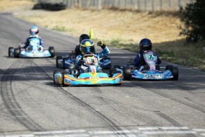 Trenton Sparks edged out the competition for his first TaG Cadet win of the series (Photo: dromophotos.com)