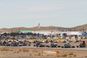 The California ProKart Challenge returns to the Willow Springs facility next weekend, taking on the course in the reverse direction from the March event (Photo: dromophotos.com)