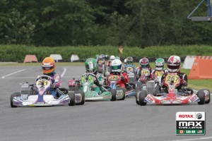 Luke Selliken was at the front of the Rotax Junior field both days (Photo: Ken Johnson - studio52.us)