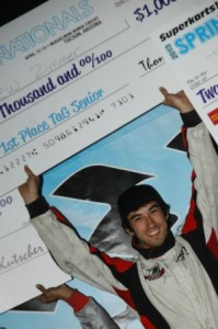 Andrew Zimmer - EKN Driver of the Month - April 2013 (Photo: On Track Promotions - otp.ca)