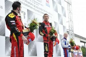 Riccardo Negro won in a very competitive KZ2 category (Photo: Press.net Images)