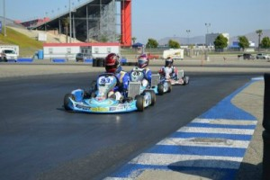 Nick Rameriez edged out the competition for the PRD 2 Junior victory (Photo: Joe Stalker - LAKC)