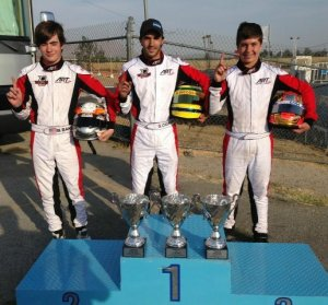 ART GP America winners at California ProKart Challenge event at Adams