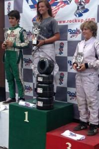 Rok Junior Final 2 podium (Photo: rokcupusa.com)