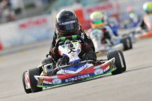 Hunter Kelly will attempt to stay at the front of the TaG Cadet field in 2013 (Photo: On Track Promotions - otp.ca)