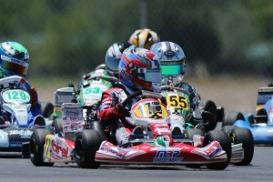 Nicholas Brueckner earned three victories on the weekend, including Mini Max on Sunday (Photo: dreamscaptured.net)