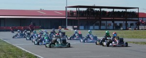 A solid 15 drivers made up the S5 Junior Stock Moto field at the opening weekend of the Texas ProKart Challenge (Photo: dreamscaptured.net)