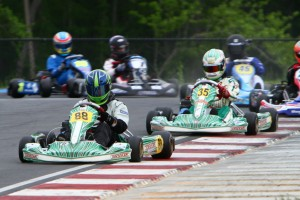 Yamaha Senior drivers will race for ,100 on Sunday of the United States Pro Kart Series event at New Castle (Photo: eKartingNews.com)