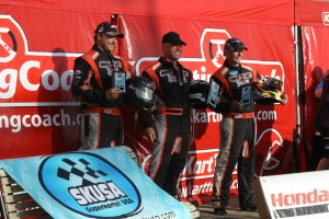 CRG-USA swept the S4 Master podium at the Rocky Mountain PKC event at IMI (Photo: Brooke Miller)