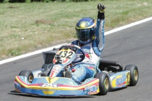 Trenton Sparks was triumphant in Mini Max on Saturday (Photo: Ken Johnson - Studio52.us)