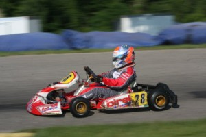 Grant Quinlan won two Yamaha Junior races (Photo: Joe Brittin)