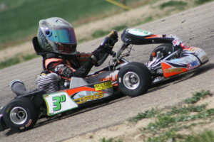 Tristin MacLeod earned a podium finish at round three of the Rocky Mountain ProKart Challenge (Photo: Brooke Miller)