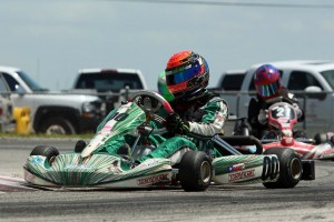 Trenton Estep came away with the main event victories in Rotax Junior (Photo: dreamscaptured.net)