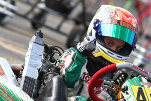 Dylan Tavella impressed against some new competition in his first event in Texas, earning the Saturday victory in Texas Pro Kart Challenge action  (Photo: Autosports Media)