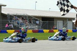 Emerson Reed and Zach Holden give Top Kart USA a 1-2 finish (Photo: DavidLeePhoto.com)