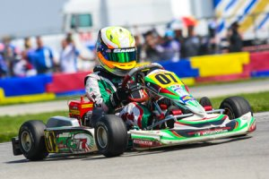 Anthony Gangi Jr. will take in WKA Man Cup action this weekend at Jet Karting (Photo: Race Tech Development)