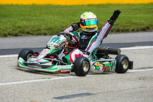 Anthony Gangi Jr. scored a Grand National Eagle with his victory in Komet Sportsman (Photo: Race Tech Development)