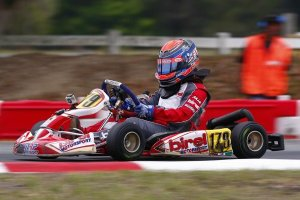 Malukas Rotax racing at Ocala in March; he's now a two-time Rotax feature winner in 2013 (Photo: DavidMalukas.com)