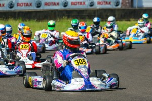 Parker McKean became the third different driver to win in the competitive Rotax Senior division (Photo: Sean Buur - Can-Am Karting Challenge)