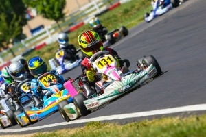 Sting Ray Robb swept the McMinnville weekend in Mini Max (Photo: Sean Buur - Can-Am Karting Challenge)